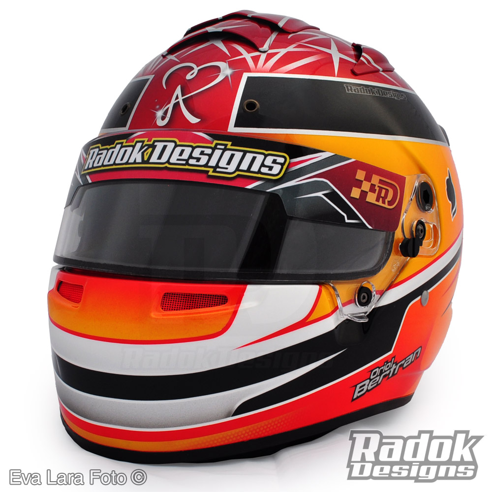 Casco de karting