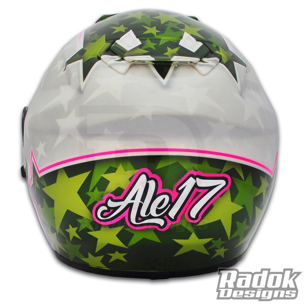casco Shoei Gt air pintado